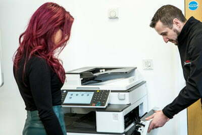 managed print services cost per page