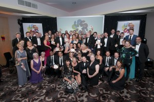 Stockport Business Awards at the Hallmark Hotel, Wilmslow.