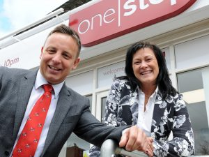 Midshire Sales Manager - Danny Walden and Amanda Sanderson, Corporate Purchasing - One Stop