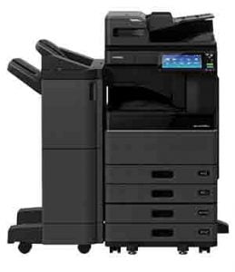 Photocopier with Booklet Finisher