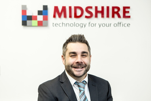 Midshire's Technology Sales Manager Stuart Carruthers