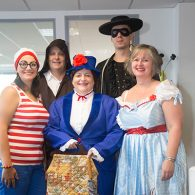 Midshire staff dressed up for the annual charity day fundraiser
