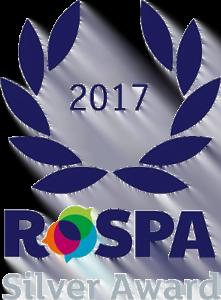 RoSPA Silver Award Logo