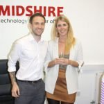 Sales Manager Nick Rose and Marketing Manager Adrienne Topping