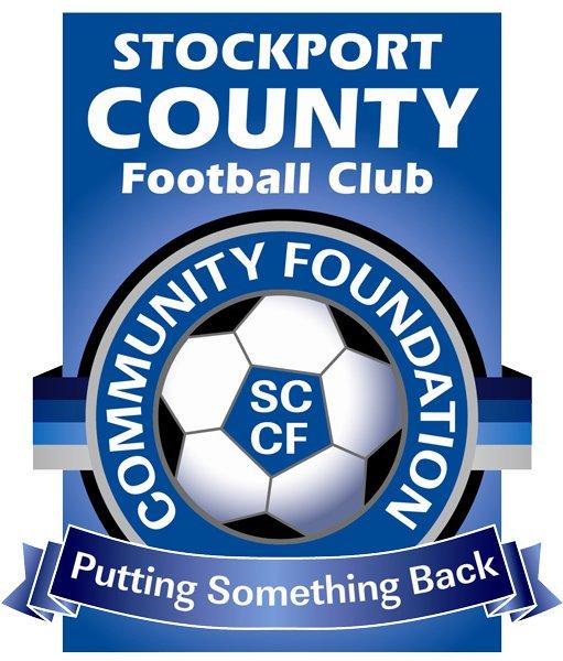 Stockport County Community Foundation's logo