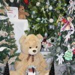 Giant Teddybear at the Francis House Festival of Christmas Trees