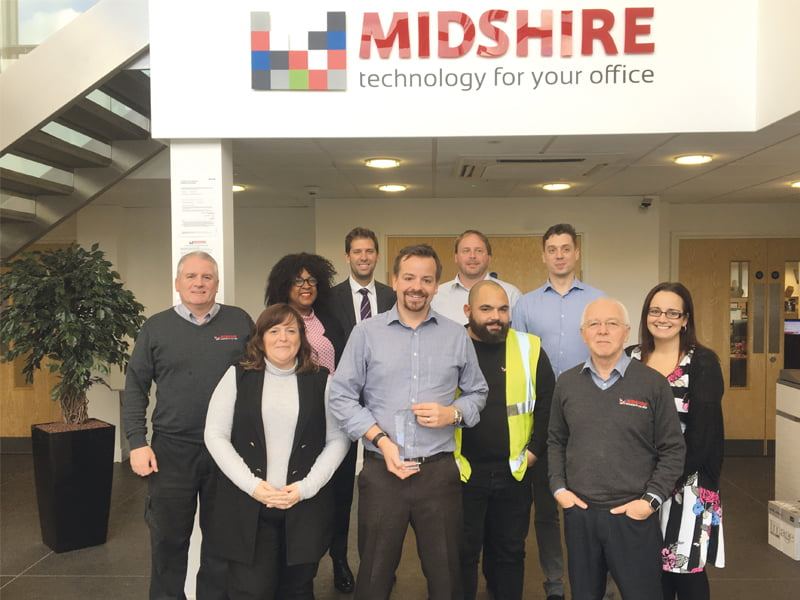 Senior Management team at Midshire