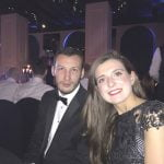 Laura and Daniel from Midshire at the Talk of Manchester Awards 2017