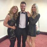 Adrienne, Nathan, and Isabelle from Midshire at the Talk of Manchester Awards 2017
