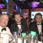 John, Dan, and Jamie from Midshire at the Talk of Manchester Awards 2017
