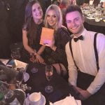 Laura, Isabelle, and Nathan from Midshire at the Talk of Manchester Awards 2017