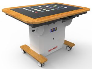 Sharp Interactive Touchscreen Table