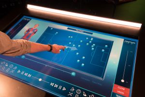 "Sharp 70"" interactive touch screen sky sports tactics table"