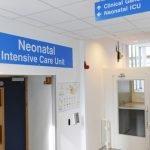 Outside Birmingham Women's Hospitals Neonatal unit