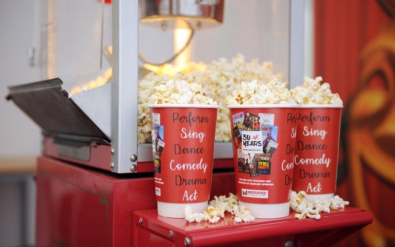 Midshire donates popcorn machine to NK Theatre Arts