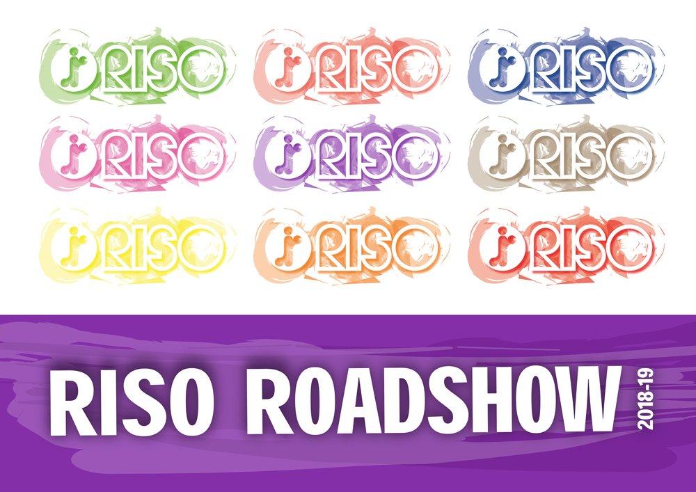 Midshire's RISO Roadshow logo