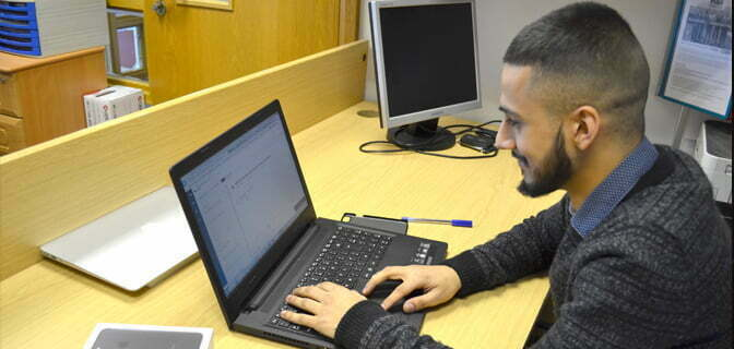 Midshire's on-site IT Support Technician at McGoff and Byrne