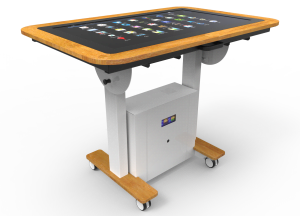Interactive Touchscreen Table for Care-homes