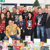 Midshire Christmas Jumper Day group shot
