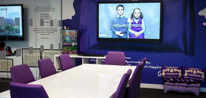 Sedulo Leeds office Cadbury room