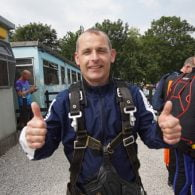 skydive for british heart foundation
